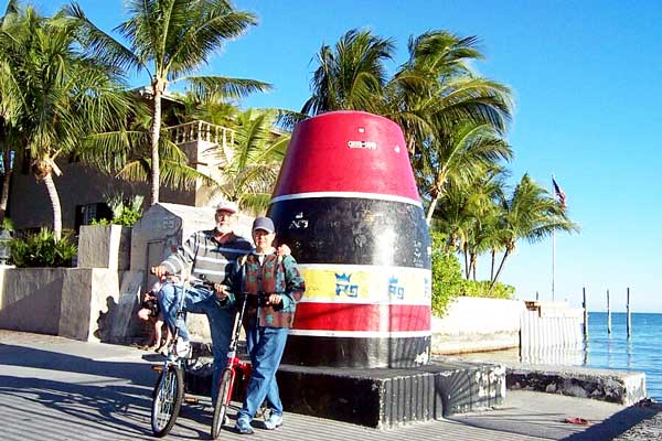 Aileen and Elkin in Key West, 2003